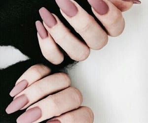 nails, pink, and beauty image