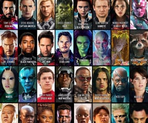black panther, Avengers, and captain america image