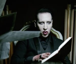 dark, Marilyn Manson, and heaven upside down image