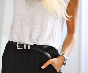 belt, style, and top image