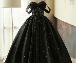 black, dress, and love it image