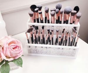 Brushes, etsy, and makeup image