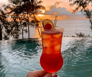 beach, drink, and relax image