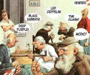 ACDC, bands, and hendrix image