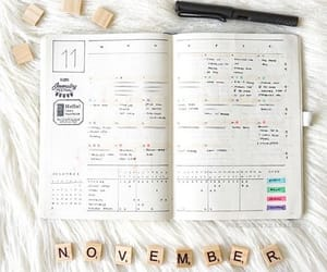 colors, planner, and school image