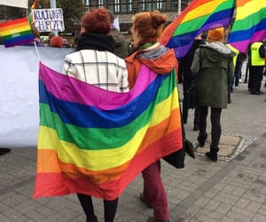 gay, lesbian, and rainbow image