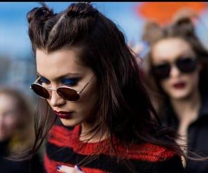 bella hadid, model, and hair image