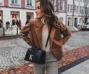 blazer, blogger, and blonde hair image