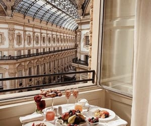 breakfast, view, and architecture image