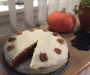 cake, carrot cake, and food image