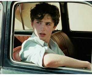 call me by your name, timothee chalamet, and elio perlman image