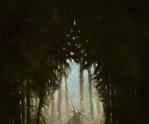 art, forest, and over the garden wall image