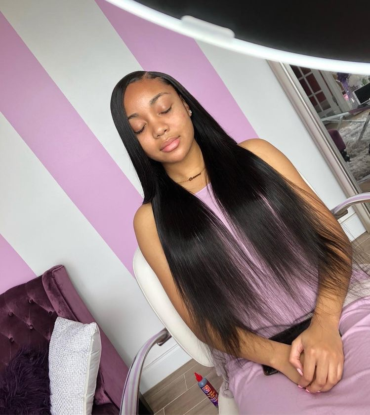 Side Part Sew In Discovered By ᴛʏᴋᴀɪᴀ