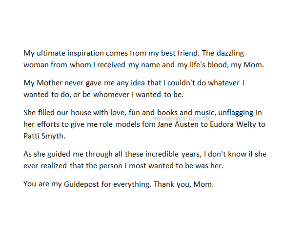 this is so beautiful. i love my mom. <3 on We Heart It