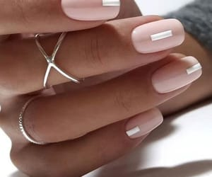 fashion, nails, and Nude image