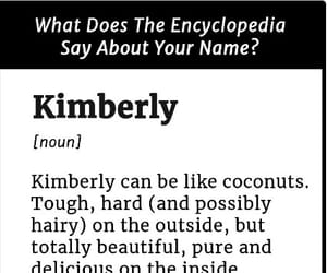 definition, names, and kimberly image