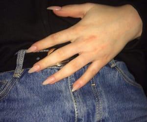 nails, girl, and tumblr image