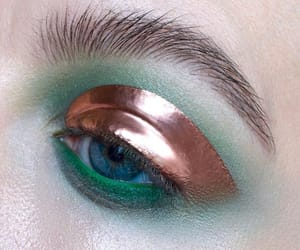 aesthetic, eye, and eyeshadow image