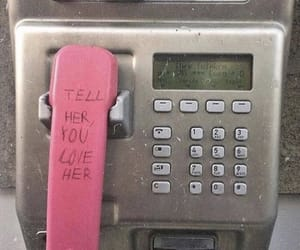 love, phone, and quotes image