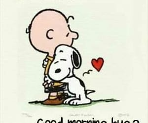 cartoon, good morning, and snoopy image