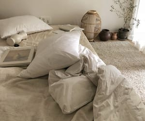 interior, bed, and beige image