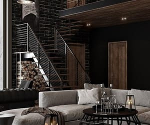 cozy, interior, and living room image
