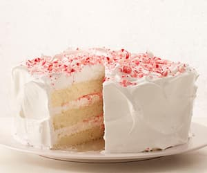 cake, candy canes, and dessert image
