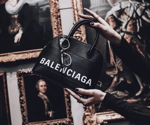 handbag, Balenciaga, and luxury image