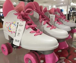 pink, retro, and shoes image