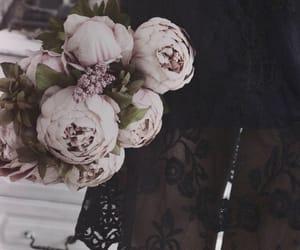 bouquet, dark, and Darkness image