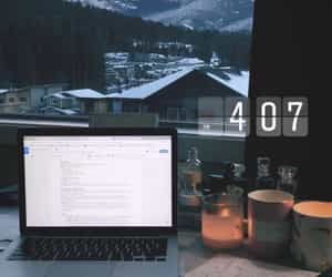 snow and study image