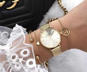 bags, purse, and watch image
