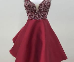 v-neck homecoming dresses, homecoming dresses sexy, and homecoming dresses a-line image