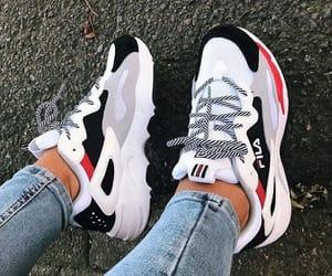 Fila, shoes, and girl image