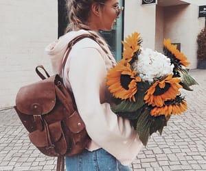 bag, city, and girl image