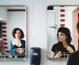 beauty, mirror, and maria jose bello image