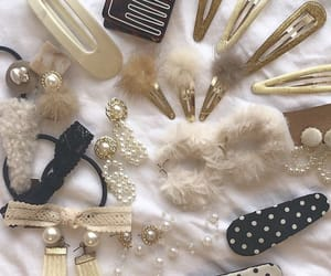 clips, fashion, and hair accessories image