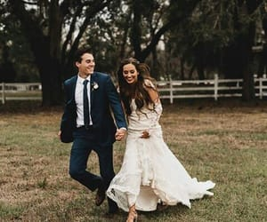 couple, goals, and suit image