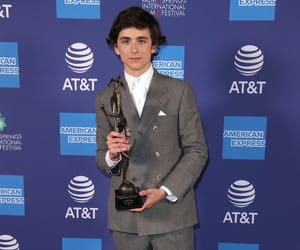 timothee chalamet, timmy, and spotlight award image