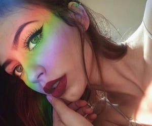 beauty, make up, and girly image