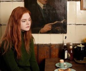 Elle Fanning and ginger image
