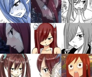 anime girl, fairy tail, and erza scarlet image