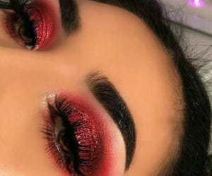 chicas, maquillaje, and ojos image