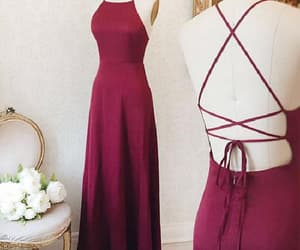 prom dresses, evening dress simple, and long evening dress image