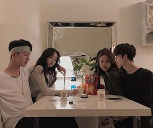 friends, korean, and ulzzang image