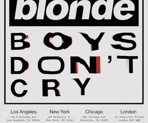 frank ocean, boys don't cry, and blonde image