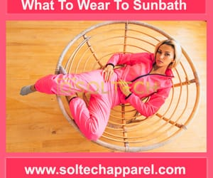 soltech health and what to wear to sunbath image