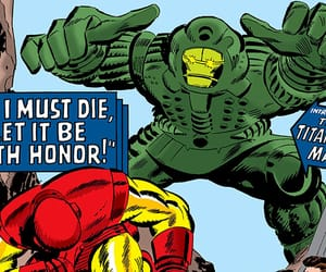 comics, iron man, and marvel comics image