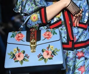 black, blue, and gucci image