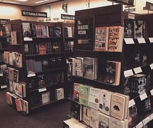 books, bookshelf, and bookshop image